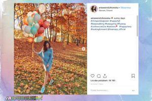 Jesienna Wendzikowska chwali się imponującymi balonami