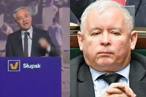 """Robert Biedroń ostro o Jarosławie Kaczyńskim: """"Pewnie nigdy nie jeździł na rowerze"""""""