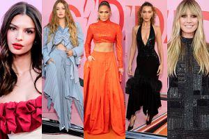Tłum gwiazd na rozdaniu nagród CFDA Fashion Awards: Jennifer Lopez, siostry Hadid, Heidi Klum, Emily Ratajkowski... (ZDJĘCIA)