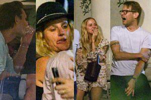 Jessiki Mercedes i celebrytów wieczór beztroski - wódeczka, piwo i papieroski (ZDJĘCIA)