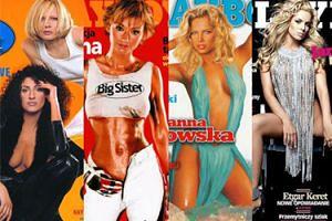 """Pudelkowy wehikuł czasu. Przypominamy dawne okładki """"Playboya"""" z polskimi gwiazdami"""