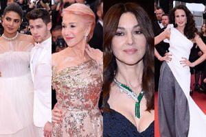 """Cannes 2019: Dojrzałe gwiazdy błyszczą na premierze """"Najlepszych lat życia"""": Helen Mirren, Andie MacDowell i Monica Bellucci (ZDJĘCIA)"""
