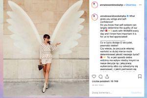 Skrzydlata Anna Lewandowska dzieli się mądrością