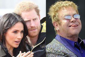 """Elton John broni Meghan Markle i księcia Harry'ego przed atakami ekologów: """"Lot był neutralny pod względem emisji dwutlenku węgla"""""""