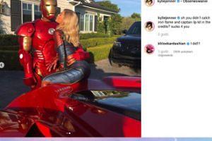 Kylie Jenner mizdrzy się do Iron Mana