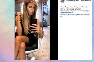 Nowa fryzura Dominiki Grosickiej