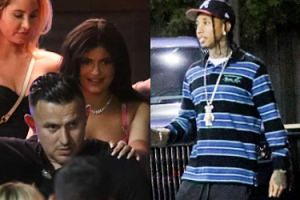 Kylie Jenner PRZYŁAPANA na schadzce z Tygą!