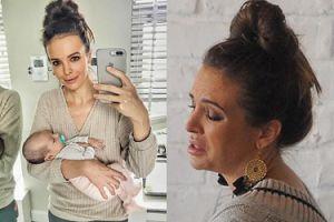 """Internauci atakują Wendzikowską na Instagramie: """"Ledwo trzyma to dziecko, ale selfie musi być"""""""