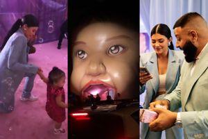 """Dziwne urodziny córki Kylie Jenner: """"świat Stormi"""", torebka Chanel w prezencie... (ZDJĘCIA)"""