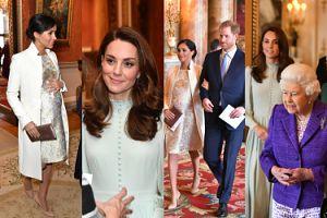 Meghan i Kate świętują z królową 50. rocznicę nadania Karolowi tytułu księcia Walii (ZDJĘCIA)
