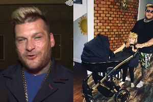 """Popek czeka na narodziny syna: """"Parę dni temu kupiliśmy wózek"""""""