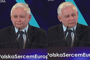 """Jarosław Kaczyński na konwencji PiS: """"Niemieckie proszki lepiej piorą"""""""