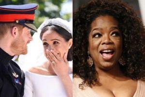 """Oprah Winfrey wciąż przeżywa ślub Meghan Markle i księcia Harry'ego: """"Odebrało mi oddech"""""""