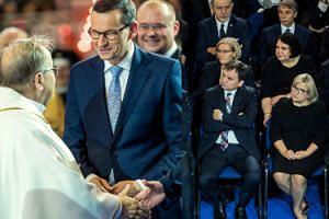 Premier Mateusz Morawiecki i śmietanka PiS-u świętują urodziny Radia Maryja (ZDJĘCIA)