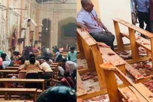 Zamachy w kościołach katolickich. W 6 eksplozjach zginęło 138 osób, a 400 zostało rannych