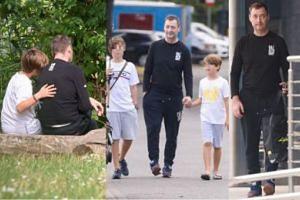Jacek Rozenek z synami spędza czas na rybach (ZDJĘCIA)