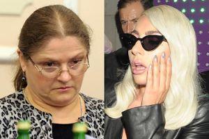 """Krystyna Pawłowicz atakuje Lady Gagę: """"Ten facet jest KOSZMARNY"""""""