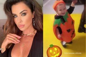 Natalia Siwiec gotowa na Halloween. Przebrała córkę ZA DYNIĘ