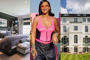 Rihanna mieszka w londyńskiej willi wartej 30 MILIONÓW FUNTÓW! (ZDJĘCIA)
