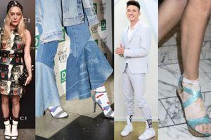 Dziś Dzień Białych Skarpetek! Noszą je Margaret, Bieber, Kwiatkowski, Prokop, a nawet Sharon Stone... (ZDJĘCIA)