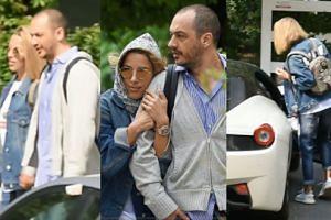 Ewa Chodakowska z ukochanym próbują wgramolić się do Ferrari za milion złotych (WIDEO)