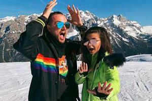 """Julia Wieniawa i Baron potwierdzili, że SĄ PARĄ? """"Przyłapani na śnieżnych szaleństwach w Alpach"""""""
