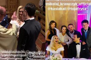 Dumny Mikołaj Krawczyk wymienia sławnych gości, którzy pojawili się na jego ślubie: Antek Królikowski, Olga Frycz, Mateusz Banasiuk... (FOTO)