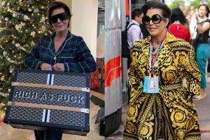 Kris Jenner chwali się walizką za... 60 tysięcy złotych (FOTO)