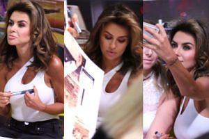 Pozbawiona entuzjazmu Natalia Siwiec rozdaje autografy na lewo i prawo (WIDEO)