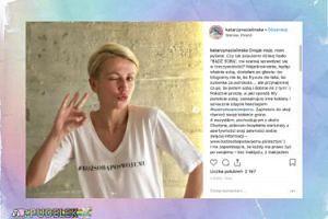 """Zielińska apeluje: """"Bądź sobą po swojemu!"""""""