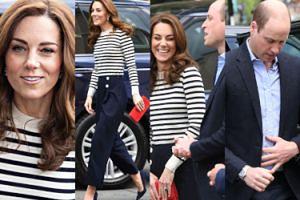 Uśmiechnięci Kate i William podkreślają małżeńską jedność na inauguracji charytatywnych regat (ZDJĘCIA)