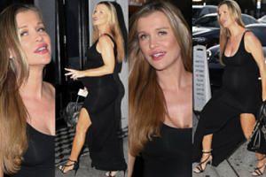 Joanna Krupa promienieje w ciąży. Brzuszek podkreśliła BARDZO obcisłą sukienką (ZDJĘCIA)