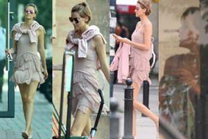 Renata Kaczoruk cała na różowo biegnie na zakupy (ZDJĘCIA)