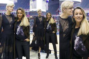 """""""Rockowa"""" Renata Kaczoruk obściskuje się z Karoliną Ferenstein-Kraśko na zawodach jeździeckich (FOTO)"""
