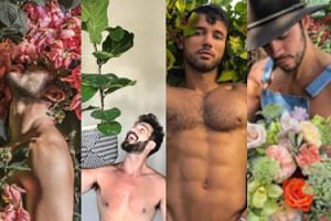 NOWY HIT Instagrama - półnadzy przystojniacy chwalą się swoimi... roślinami (ZDJĘCIA)