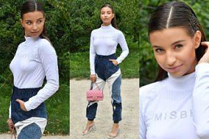 """""""Ulizana"""" Julia Wieniawa chwali się torebką Chanel za 20 tysięcy na konferencji serialu """"Zawsze warto"""" (ZDJĘCIA)"""