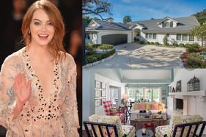 Emma Stone sprzedaje swój skromny dom w Beverly Hills. Ładnie się urządziła? (ZDJĘCIA)