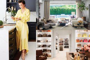 Kris Jenner też pochwaliła się wnętrzami domu w magazynie! Ma dobry gust? (ZDJĘCIA)