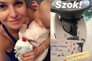 Roczna Klara Lewandowska dostała... własnego robota kuchennego!