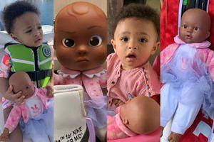 Poznajcie nową gwiazdę sieci: lalkę rocznej córeczki Sereny Williams... (ZDJĘCIA)
