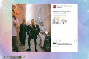 Rozkraczona Jessica Mercedes szaleje w Maroku