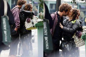 Helena Bonham Carter i jej młodszy o 20 lat chłopak wpadli w szpony namiętności przed supermarketem (FOTO)