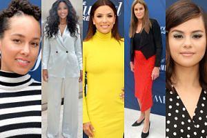 Gwiazdy i celebrytki integrują się na hollywoodzkiej ściance: Alicia Keys, Ciara, Eva Longoria, Selena Gomez... (ZDJĘCIA)