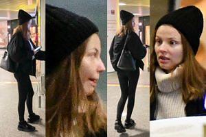 Magdalena Frąckowiak przyłapana na lotnisku bez makijażu (ZDJĘCIA)