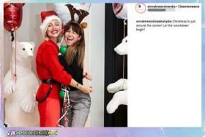 Ania Lewandowska odlicza czas do świąt