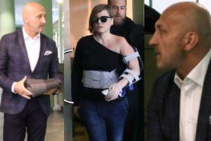 Pochmurna Izabel i elegancki Kaz: Ciąg dalszy afery rozwodowej Marcinkiewicza (WIDEO)