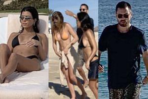 Miłosny trójkąt u Kardashianów: Kourtney na wakacjach z 20-letnią kochanką ojca swoich dzieci