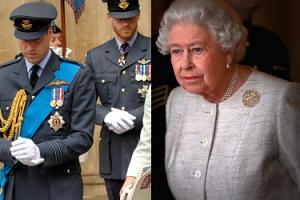 """Królowa Elżbieta próbuje zażegnać konflikt Williama i Harry'ego: """"Pracuje niewiarygodnie ciężko"""""""