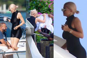 Kylie Jenner z córką i znajomymi relaksuje się na jachcie (ZDJĘCIA)