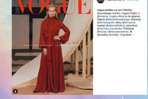"Magda Cielecka na okładce nowego numeru ""Vogue Polska"""
